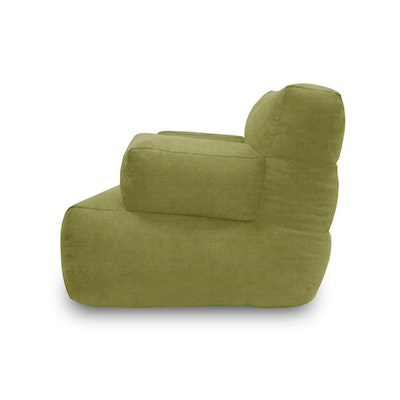 Flabber Bean Bag Sofa - Green - Image 2