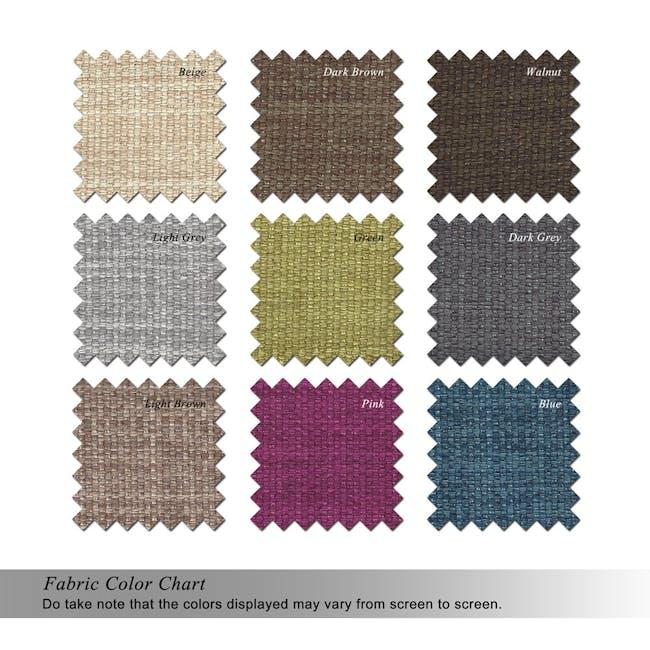 Flabber Bean Bag Sofa - Light Grey - 3
