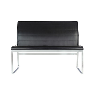 Leona Bench with Backrest