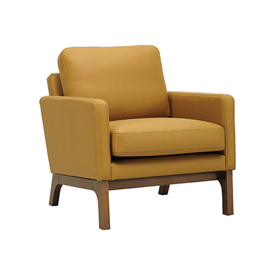 Courtney Armchair - Cocoa, Caramel
