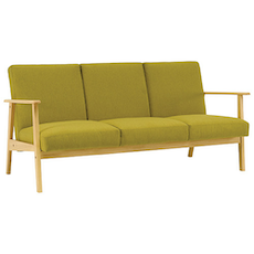 Telford 3-Seater Sofa - Natural, Oasis