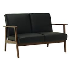 Telford Twin Seater Sofa - Cocoa, Espresso