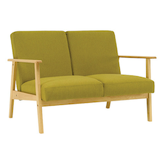 Telford Twin Seater Sofa - Natural, Oasis