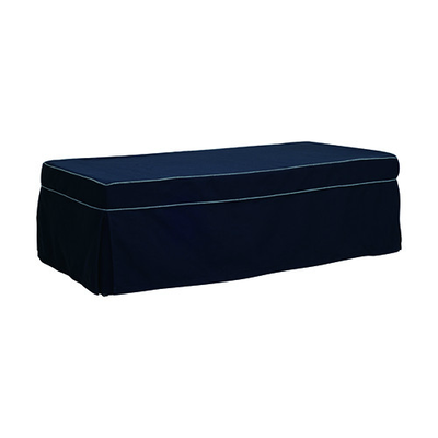 Spark Rectangle Guest Bed - Navy - Image 1