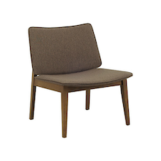 Batley Lounge Chair - Cocoa, Chestnut