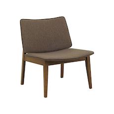 Batley Lounge Chair - Cocoa, Chestnut