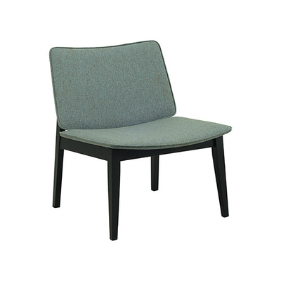 William Lounge Chair - Black, Whale