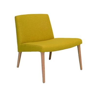 Venza Lounge Chair - Yellow
