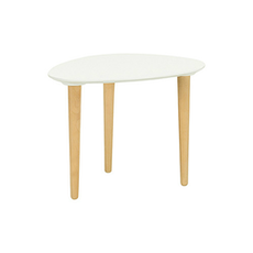 Corey Occasional Low Table - White