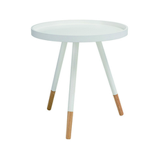 Innis Coffee Table - Natural, White