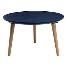 Carsyn Round Coffee Table - Marine Blue