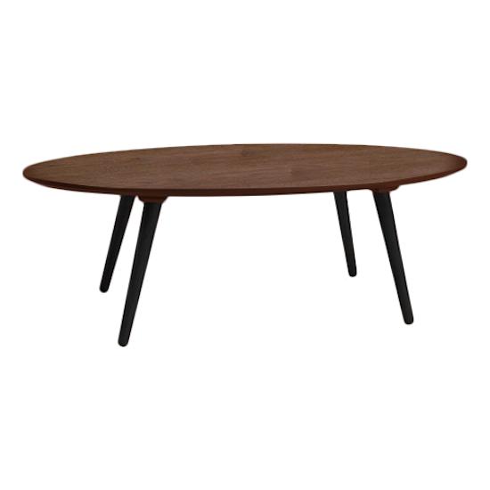 Malmo - Carsyn Oval Coffee Table - Cocoa