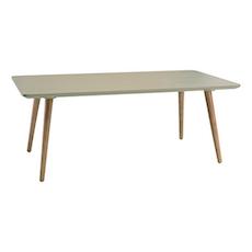 Carsyn Rectangular Coffee Table - Taupe Grey