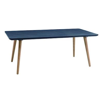 Carsyn Rectangular Coffee Table - Marine Blue - Image 1