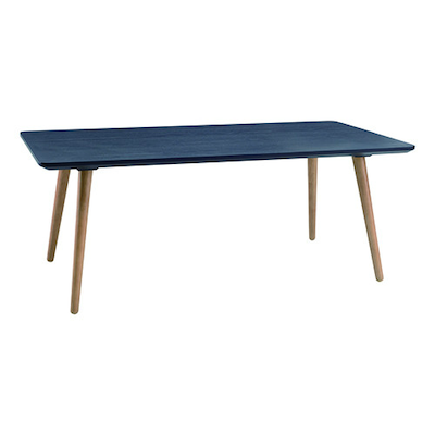 Carsyn Rectangular Coffee Table - Marine Blue
