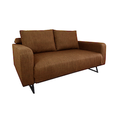 Aikin 2.5 Seater Sofa Bed - Coffee
