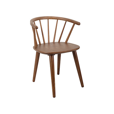 (As-is) Caley Dining Chair - Cocoa - 1 - Image 1