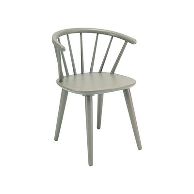 (As-is) Caley Dining Chair - Taupe Grey - 1 - Image 1