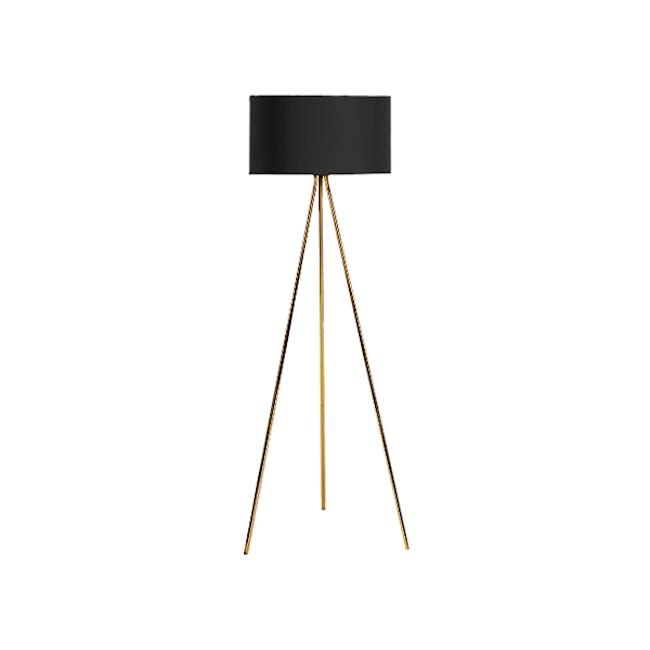 Isabella Floor Lamp - Brass - 0