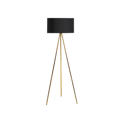 (As-is) Isabella Floor Lamp - Brass -1 - Image 1