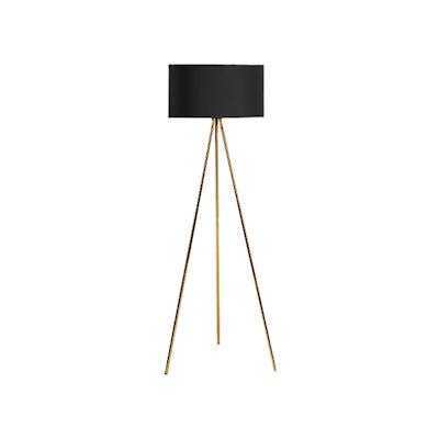 Isabella floor lamp brass image 1