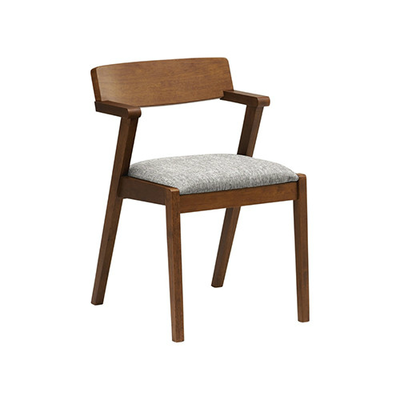 Imogen Dining Chair - Cocoa, Pebble - Image 1