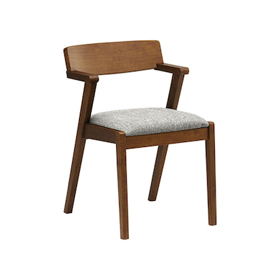 Imogen Dining Chair - Cocoa, Pebble