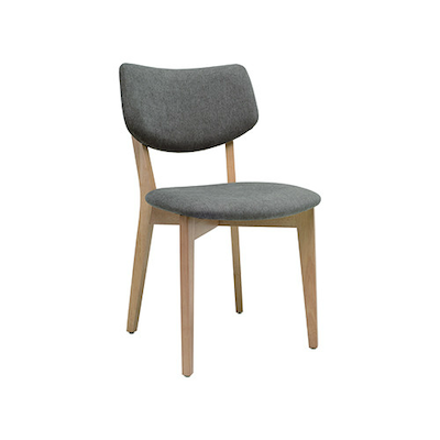 Gabby Dining Chair - Natural, Grey - Image 1