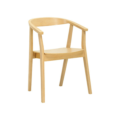 (As-is) Greta Chair - Natural - 1 - Image 1