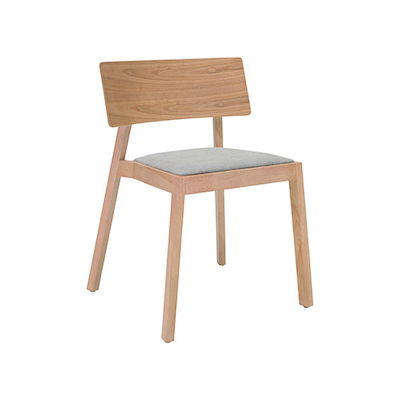 Winta Chair - Natural, Light Grey