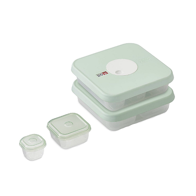 Dial Storage 15-piece Baby Food Container Set (Stages 1 & 2)