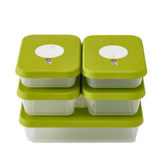 Dial Rectangular Storage Container (Set of 5)