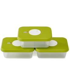 Dial Rectangular Storage Container (Set of 3)