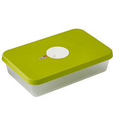 Dial Rectangular Storage Container with Datable Lid