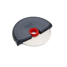 Disc Easy Clean Pizza Wheel - Grey/Red