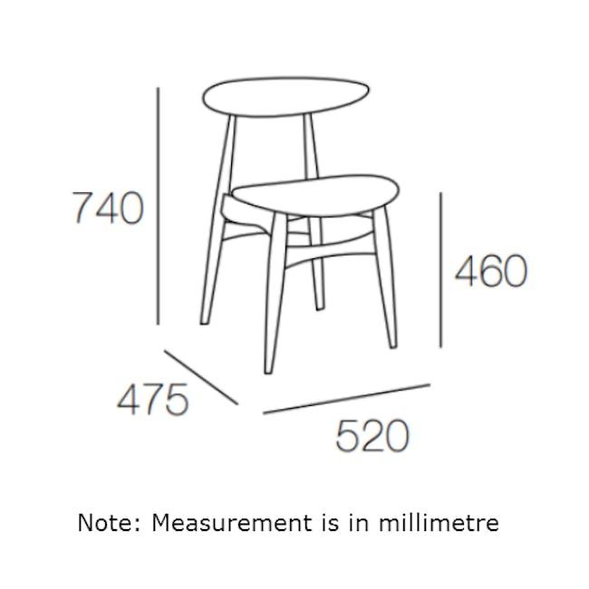 Tricia Dining Chair - Walnut, Espresso - 6