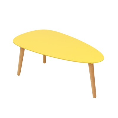 (As-is) Avery Coffee Table - Mustard