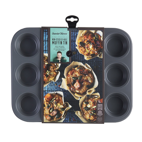 Jamie Oliver - Jamie Oliver Muffin Tin (12 Cups)