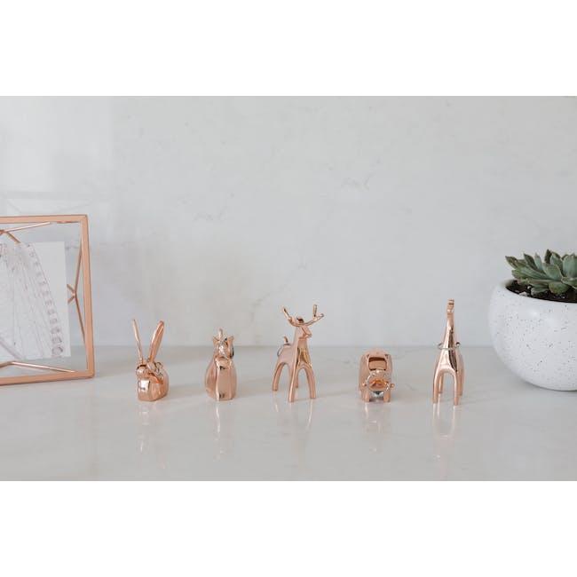 Anigram Cat Ring Holder - Copper - 2