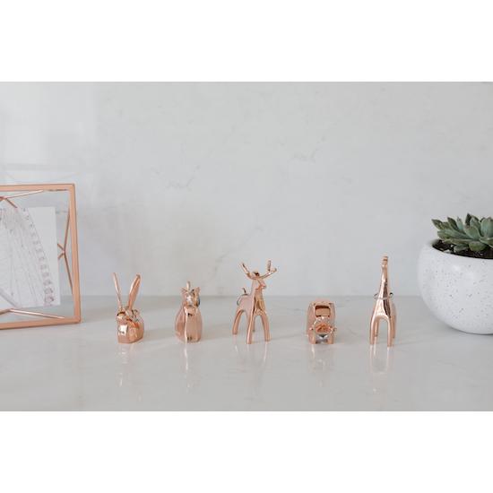 Umbra - Anigram Cat Ring Holder - Copper