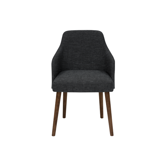 HipVan Bundles - 4 Aiden Dining Chairs in Cocoa, Charcoal