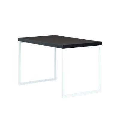 Brent Work Table 1.5m - Black, White - Image 1