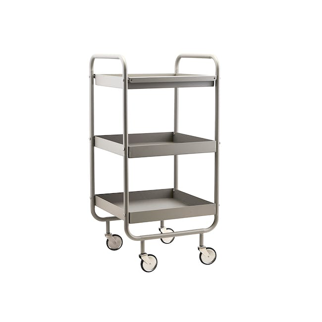 Roll Trolley - Taupe Grey - 0