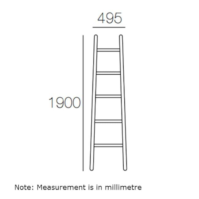 Mycroft Ladder Hanger - White - 4