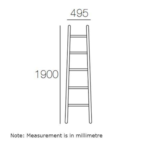Malmo - Mycroft Ladder Hanger - Oak
