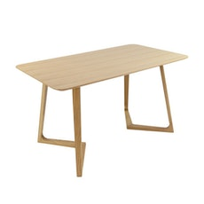 (As-Is) Trio Dining Table - Oak