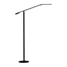 Equo LED Floor Lamp Warm Light - Black
