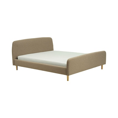 Bella Queen Bed - Harmonic Tan - Image 1