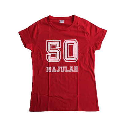 SG50 Majulah Red T-Shirt - Medium - Image 1