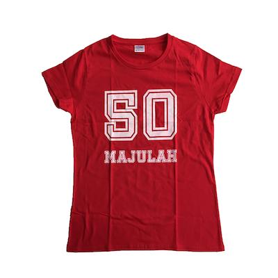SG50 Majulah Red T-Shirt